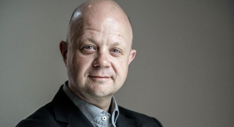 Direktør i reklamebureauet Mensch, Jacob Johansen.