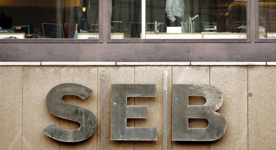 Den svenske storbank SEB.