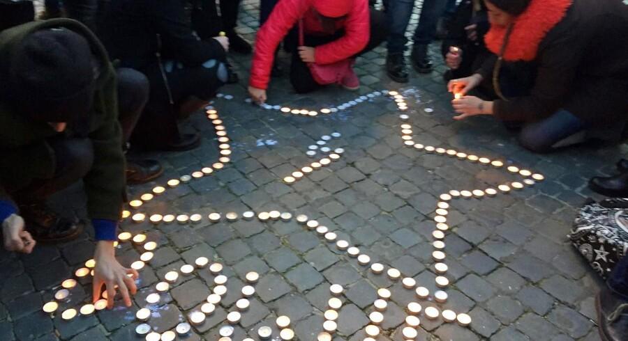 Foto fra Rom dagen efter David Bowies død. Foto: EPA