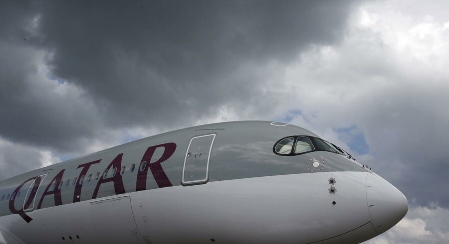 Arkivfoto: Qatar Airways Airbus A350.