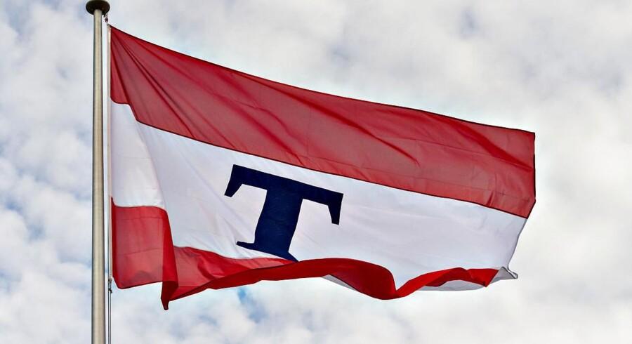Rederiet Torms flag.