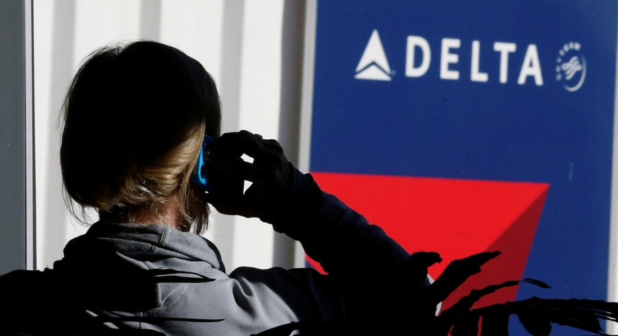 Forsinkelser rammer mandag Delta-passagerer over hele verden. (Arkivfoto) Reuters/© George Frey / Reuters