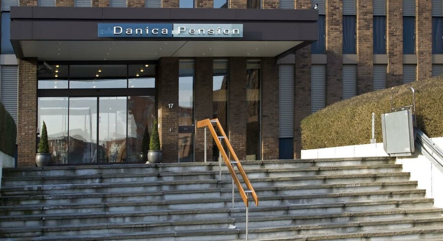 De 12 største pensionsselskaber i Danmark planlægger frem mod 2019 at investere 9 mia. kr. i unoterede danske selskaber. Danica står for hele 7 mia. kr. af de investeringer. Arkivfoto: 2008