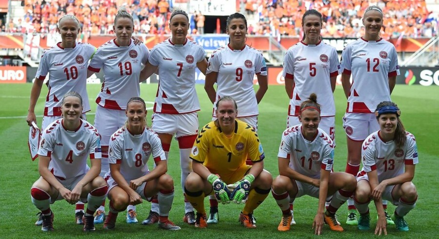 Det danske kvindelandshold ved VM i fodbold.