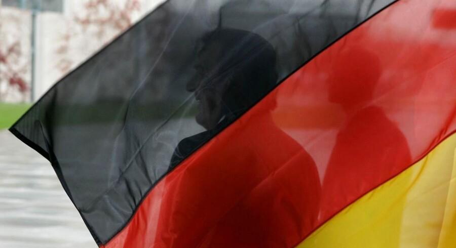 Tysklands eksport steg noget overraskende ganske markant i marts sammenlignet med måneden før.