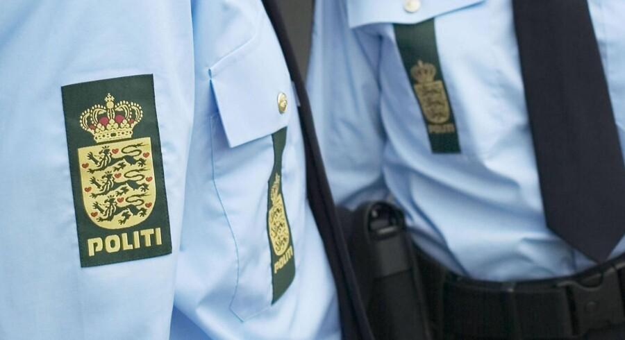Ved en israelsk bygning i Nordsjælland føler betjente, at de ikke kan vogte ordentligt. Genrefoto Free/Politiet