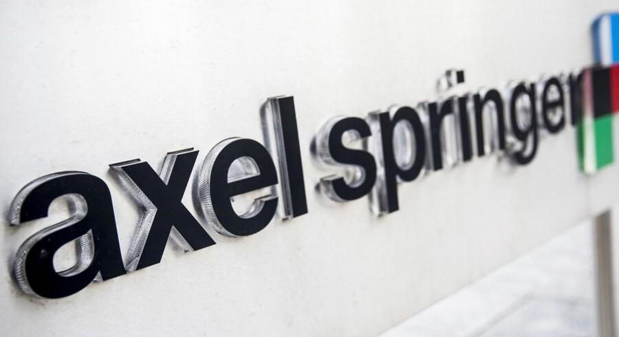 Den tyske mediekoncern Axel Springer har hovedkvarter i Berlin. Nu køber den op i USA.