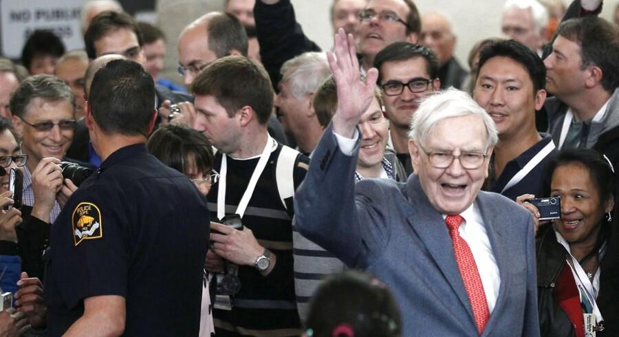 Berkshire Hathaway under ledelse af investorikonet Warren Buffett tjener fortsat forrygende mange penge.
