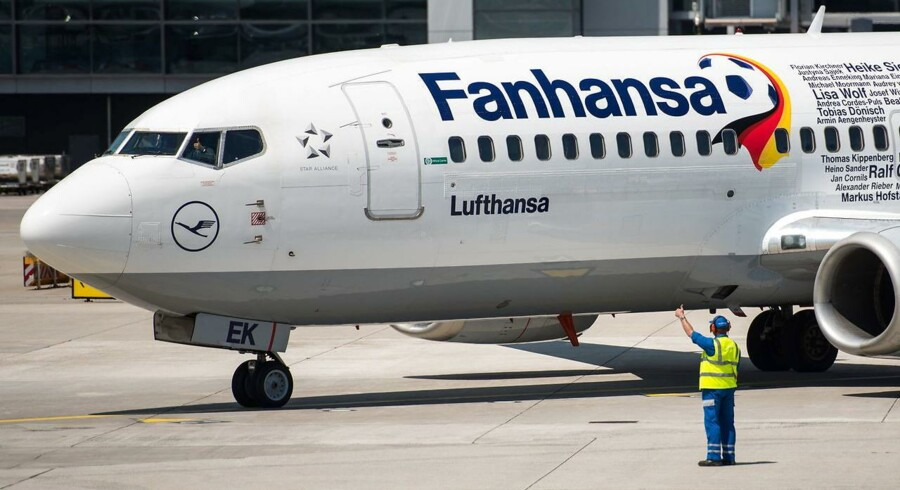 Arkivfoto: Lufthansa fly.