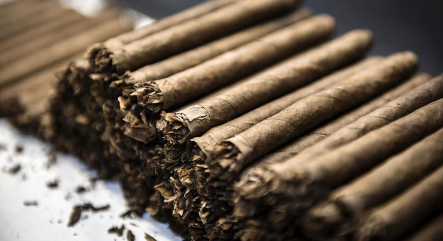 Scandinavian Tobacco Group noteres på børsen d.10. februar i år. Salget forventes at løbe op i 10 milliarder kr.- -
