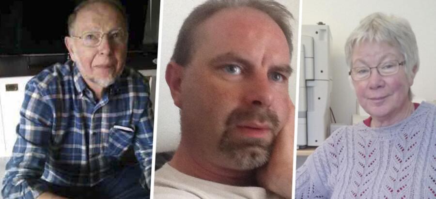 Far, søn og mor – Jørgen, Lars og Kirsten Kragh – efterlyses af politiet, der har udsendt fotos af familien.