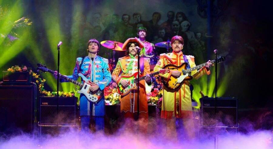 Musicalen »Let it Be« i Liverpool.