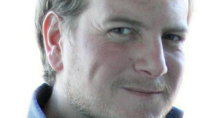 Mikkel Andersson. journalist og debattør.