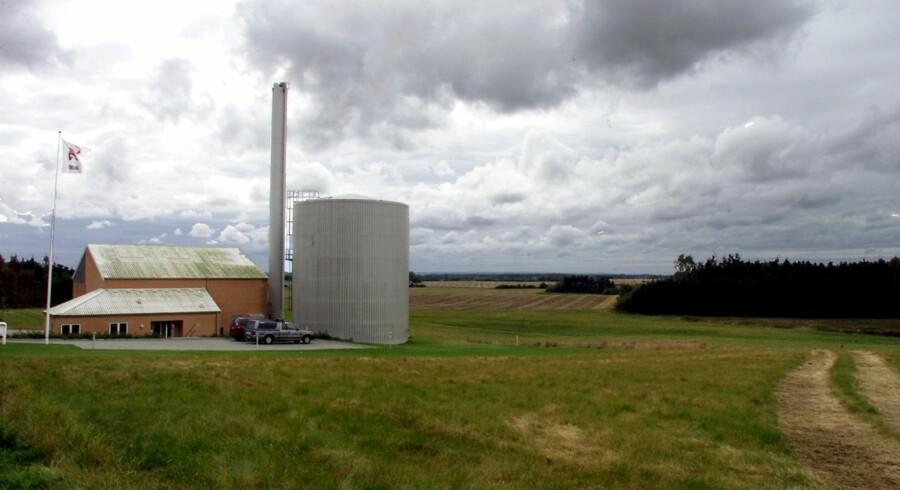 Nogle af de mindre varmeværker vil formentlig blive lukket, når bindingen til naturgas og det såkaldte grundbeløb bortfalder. Scanpix/Søren Steffen