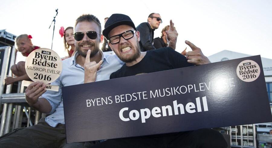 Vinder af Byens Bedste Musikoplevelse Copenhell Uddeling