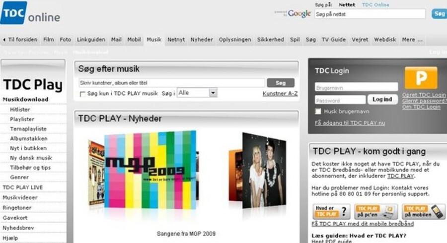 TDC Play er en gratis musiktjeneste for TDC-kunder, men også kunstnerne er glade for den.