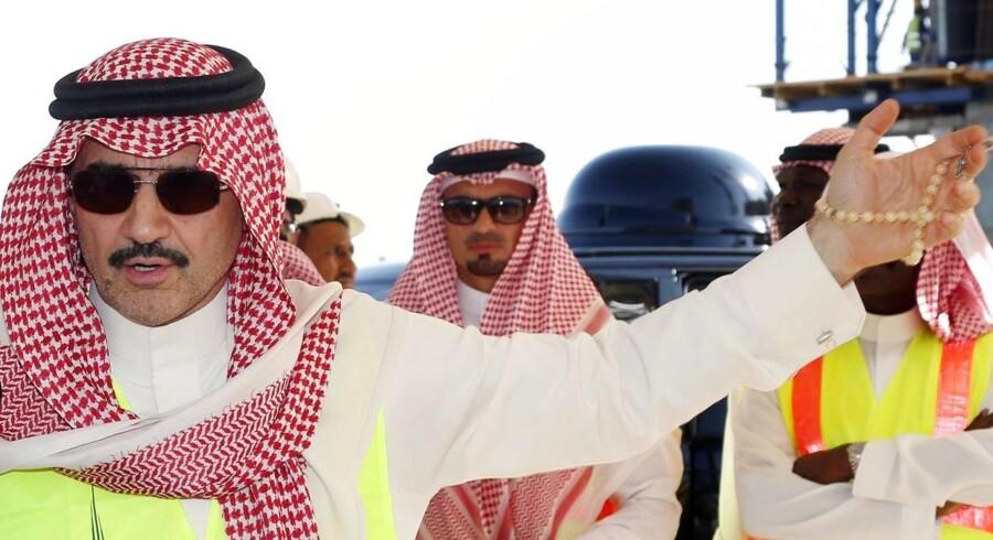 Den saudiske prins og oliesheik Prins Alwaleed bin Talal vil nu donere hele formuen til velgørenhed.
