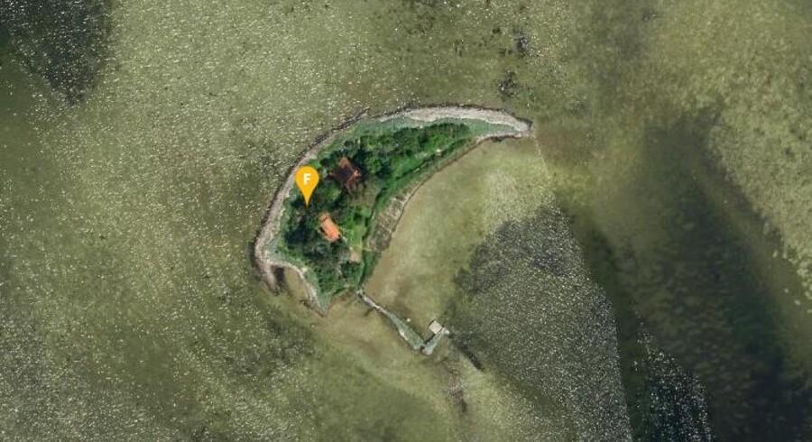 Øen Peberholm ligger i Roskilde Fjord