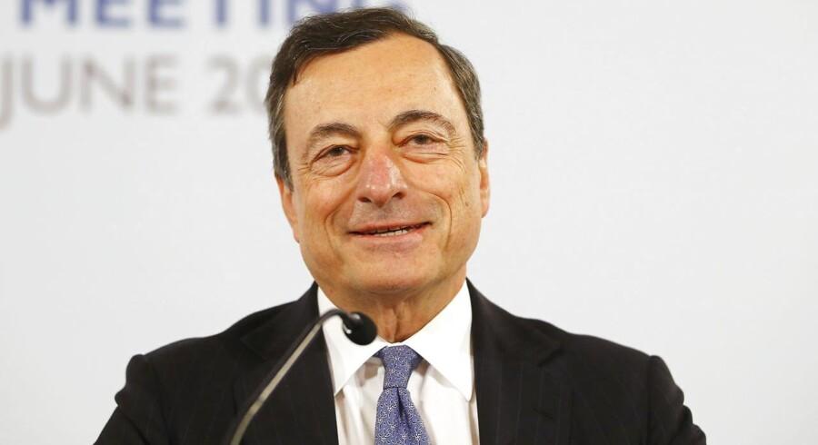 Præsident for en Europæiske Centralbank (ECB) Mario Draghi.