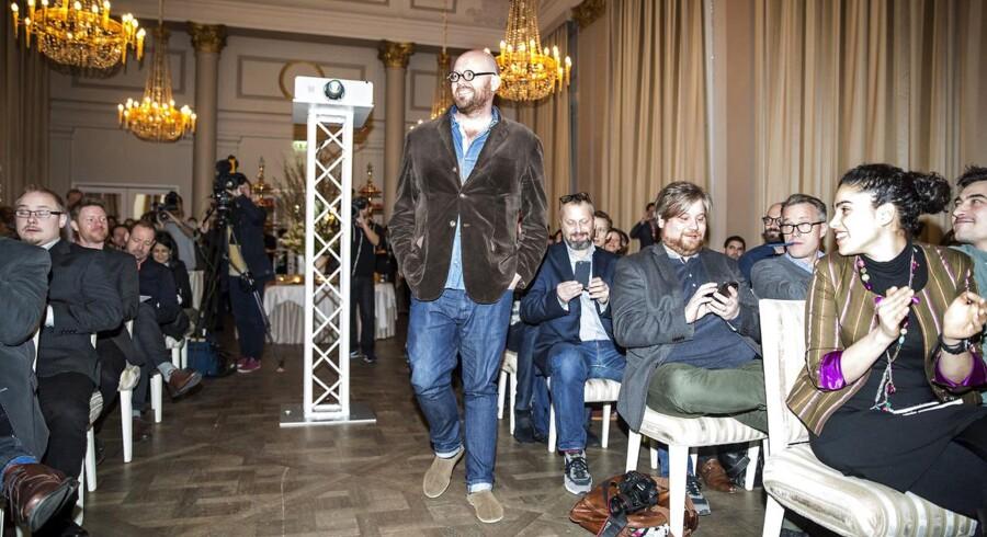 Paul Cunningham fra den danske restaurant Henne Kirkeby Kro modtager en stjerne.