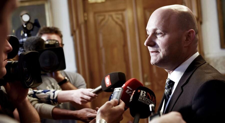 De Konservatives formand, Søren Pape Poulsen, slår endeligt fast, at hans parti ikke kommer med i en ny regering.