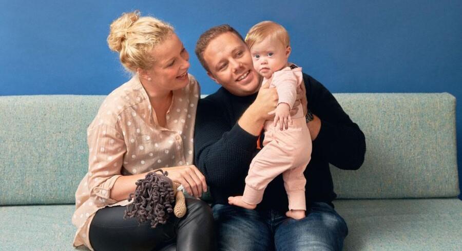 Susan og Kenneth er lykkelige for, at de valgte at få Anemone, selv om hun har et ekstra kromosom.