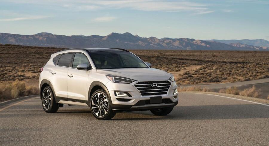 Intet radikalt facelift til Hyundais mellemstore SUV Tucson, men nye sikkerhedssystemer og ny grill