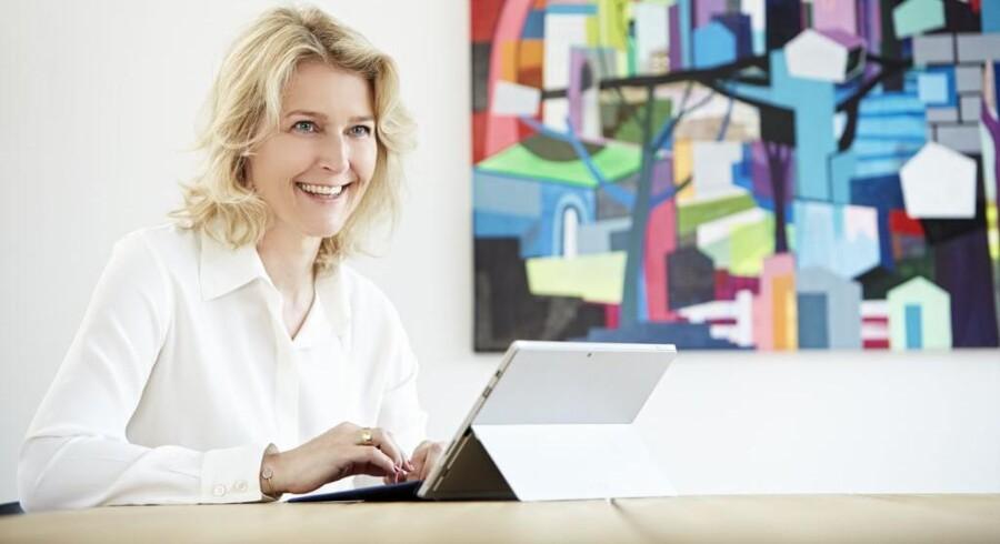 Marianne Dahl Steensen overtager fra 1. juli direktørstolen for Microsoft Danmark. Foto: Microsoft