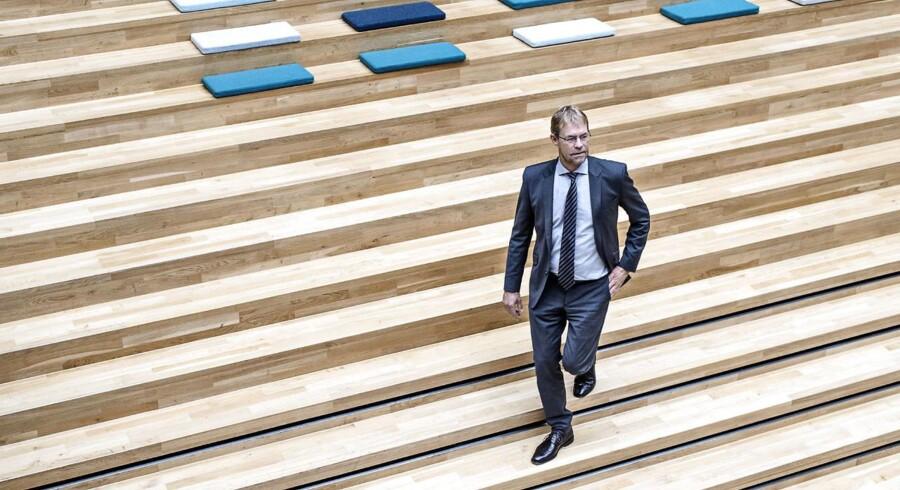Koncernchef for COWI Lars-Peter Søbye fotograferet i COWI i Lyngby tirsdag den 22. september 2015.