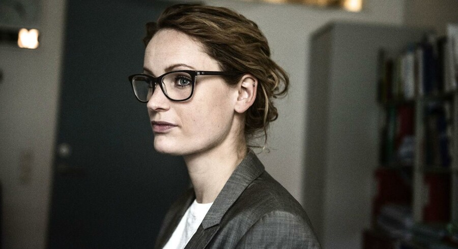 Enhedslistens Pernille Skipper på hendes kontor på Christiansborg.