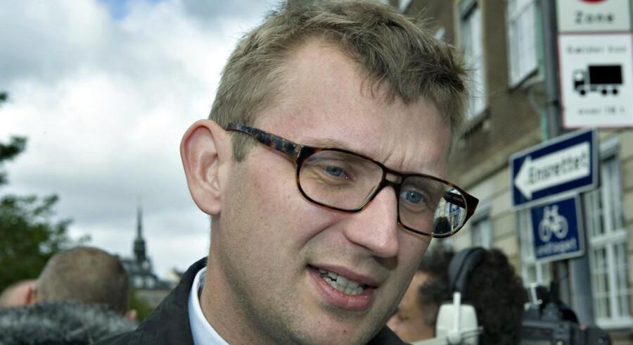Troels Lund Poulsen - erhvervs- og vækstminister.