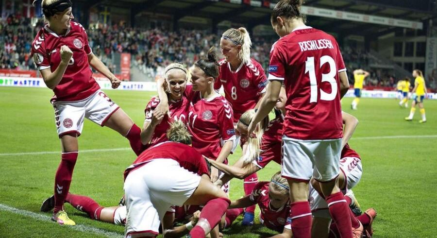 Der bliver ingen mulighed for at se de danske landshold i Horsens på fredag.