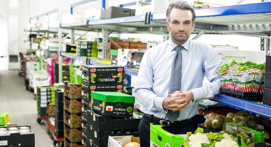 Administrerende direktør Stefan Plenge kører videre med underskud i Nemlig.com - omend underskuddet er mindre end tidligere år.