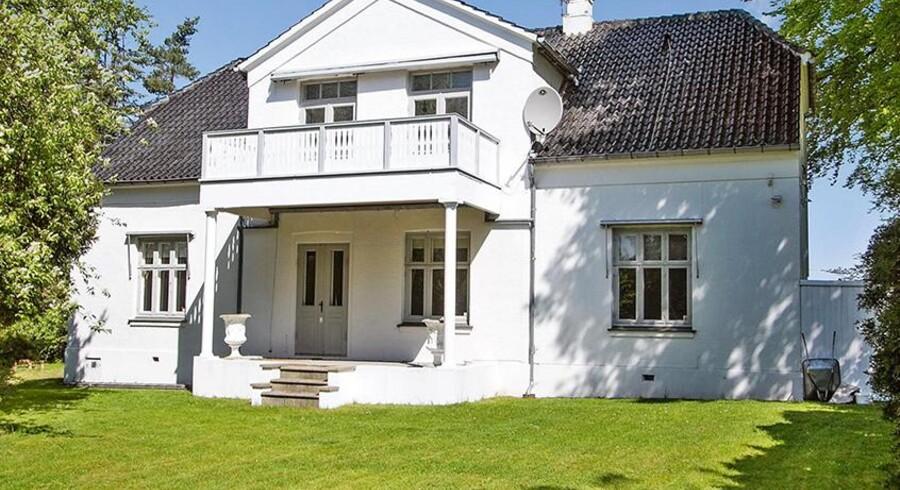 Det koster 21,5 millioner kroner at overtage Kong Christian den niendes gamle villa (Foto: Ivan Eltoft Nielsen)