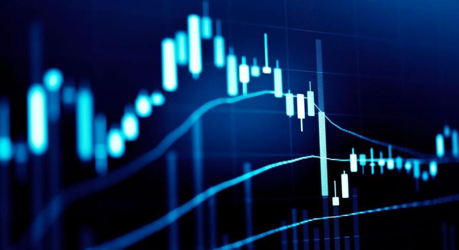 Volatilitet prægede onsdagens handel på de amerikanske børser.