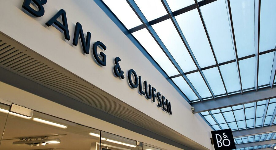 Bang & Olufsen stopper forhandlinger med købsinteresseret kinesisk selskab.