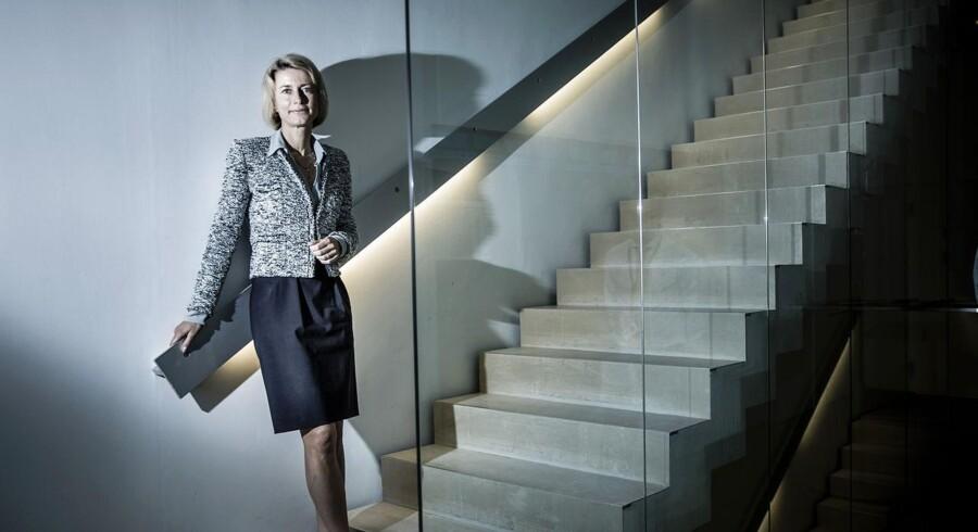Eva Berneke er topchef for KMD, Danmarks største privatejede IT-selskab, og hun mener, at KMD har opnået en milepæl med opkøbet af Banqsoft.