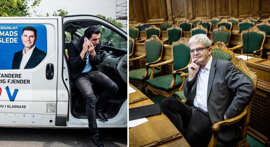 Serdal Benli, viceborgmester i Gladsaxe for SF, blev akkurat slået af SF-veteranen Holger K. Nielsen, der satte sig på folketingsvalgets tætteste mandat.