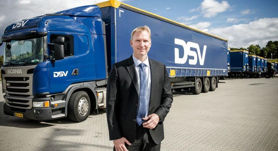 Portræt af IT-chef for DSV, Jesper Riis. Fotograferet på deres central i Hedehusene.