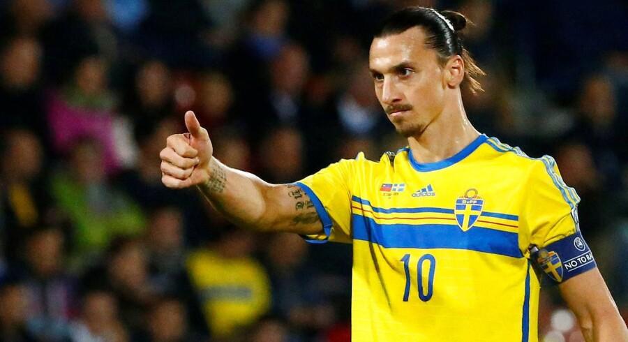 Zlatan Ibrahimovic er en af stjernerne ved EM i Frankrig. Menb hvad hedder den nye film om ham?