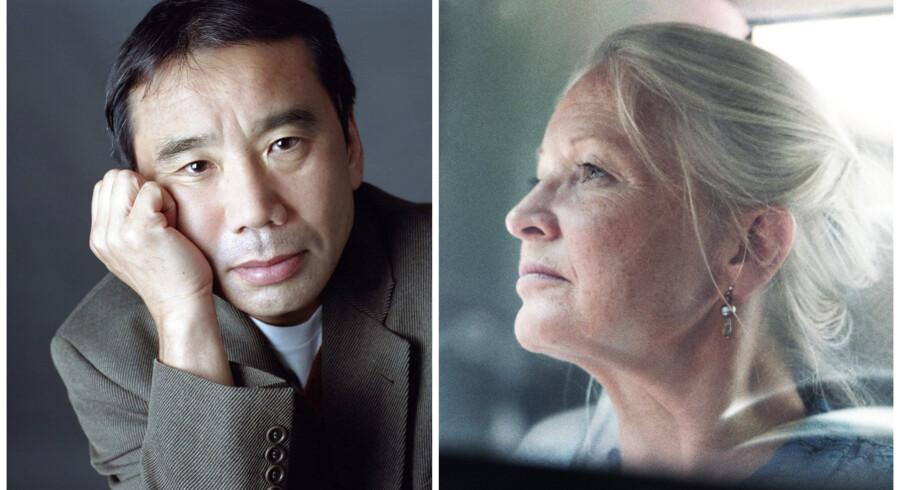 »Murakami selv optræder ikke i »Dreaming Murakami«, men har alligevel hovedrollen, og det er interessant at høre Holm, der kender ham på såvel mikro- som makroplan, fortælle, hvordan hans bøger er politiske. Sådan fremstår de ikke for en dansk læser, men er det, forstår man, for en japaner,« skriver Jeppe Krogsgaard Christensen. Foto: PR og still fra dokumentarfilmen »Dreaming Murakami«.
