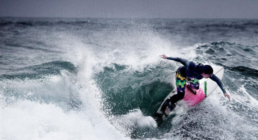For inkarnerede surfere er det vinden og bølgerne, der tæller. Derfor tiltrækker området omkring Klitmøller surfere fra hele verden, selv om vandet her kan være temmelig koldt.