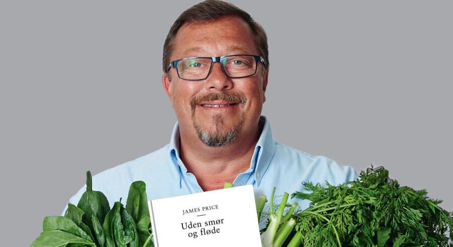 James Price med sin nye bog, »Uden smør og fløde«.