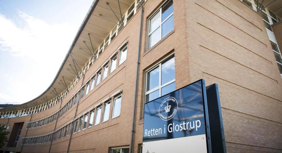 Arkivfoto: Retten i Glostrup. I efterforskningen er der foretaget en videooptaget afhøring, har politikommissær Ole Nielsen oplyst.