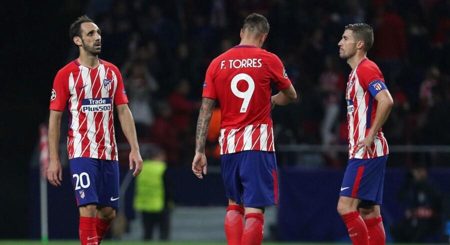 Tilskuerne buhede, da Atlético Madrid sensationelt satte point til mod Qarabag, og nu er tæt på CL-exit.