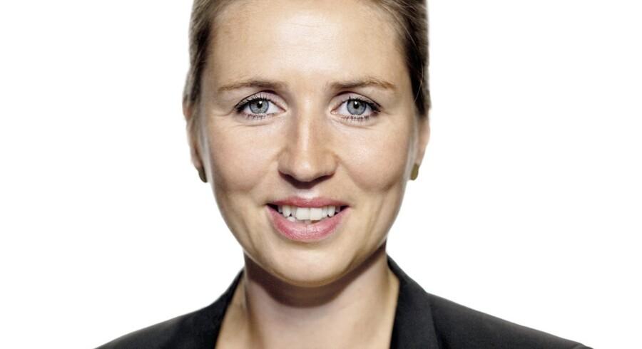Mette Frederiksen, justitsminister (S)