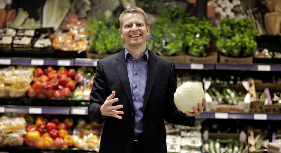 ARKIV: Rema 1000 CEO Henrik Burkal til Berlingske Business om vækstplaner i 2014. I dag kan han glæde sig over flere gode takter i kæden af franchisebutikker. - Fotograferet 10. december 2013.