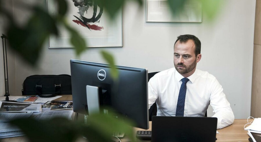 Nikolaj Kosakewitsch, direktør for Fondsbørsen i København.