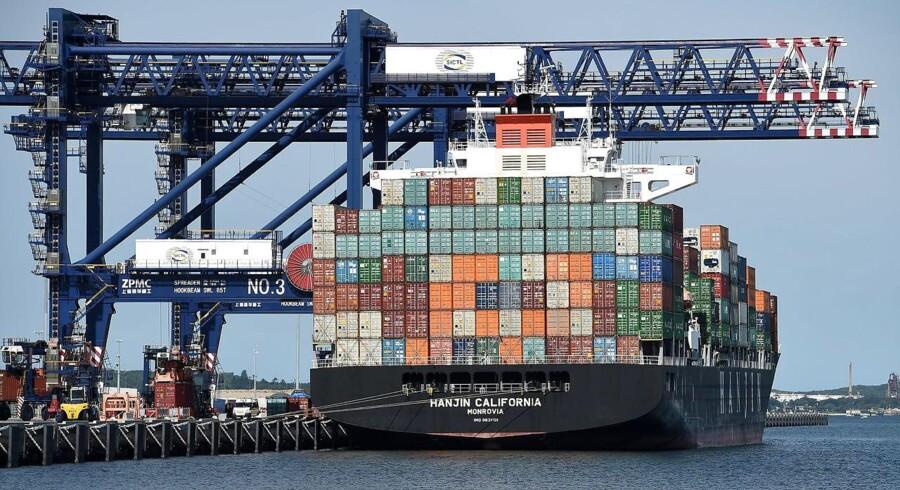 Det kriseramte sydkoreanske containerrederi Hanjin Shipping, der med de nuværende lave fragtrater har vanskeligt ved at skabe indtjening til at servicere sin tyngende gæld, har fået et rungende nej til at få nedsat charterlejen på de skibe, det har lejet fra Seaspan.