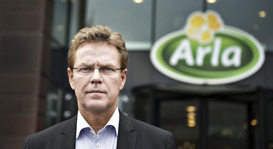 Administrerende direktør Peder Tuborgh tror på lysere tider for mælkeproducenterne efter et vanskeligt 2015.